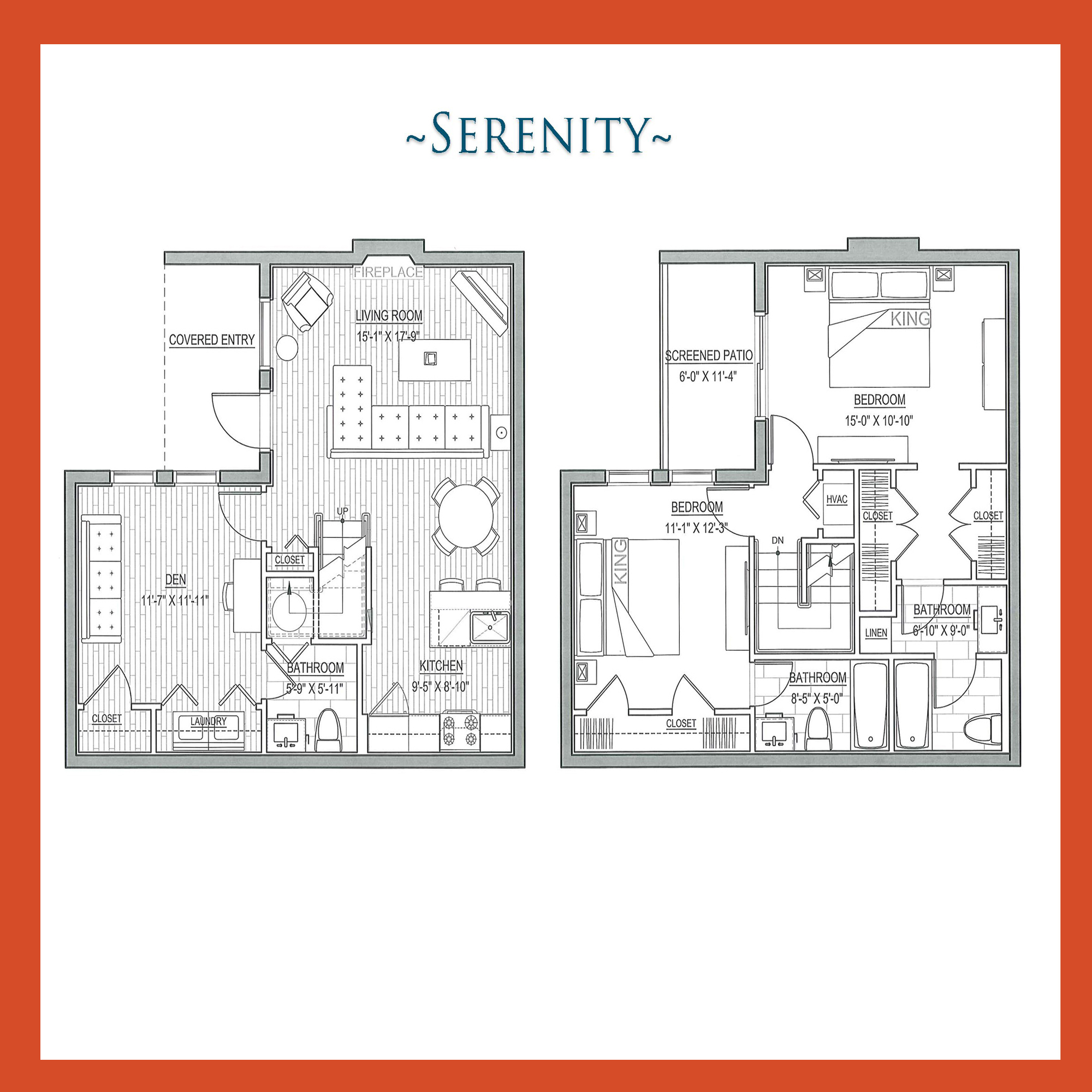 Serenity Townhome with Den