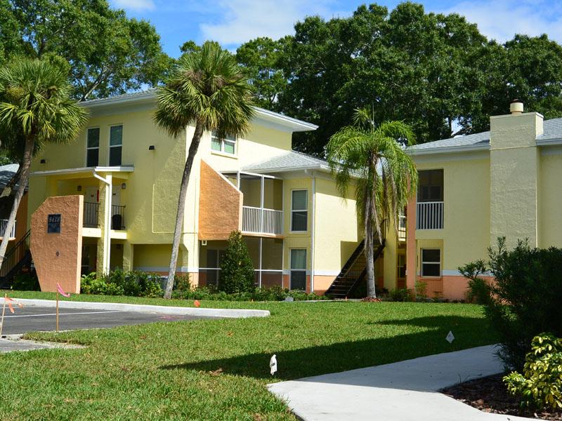 Colorful Apartment Exteriors